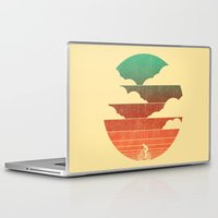 cycling Laptop & iPad Skins featuring Go West (cycling edition) by Picomodi