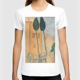 Amedeo Modigliani - Cypresses and Houses at Cagnes T-shirt
