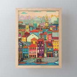 Porto Framed Mini Art Print