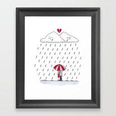 Love stories  Framed Art Print
