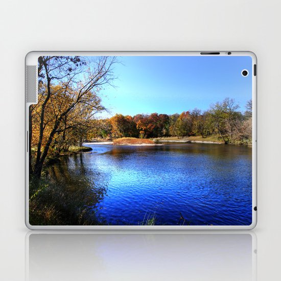 Kishwaukee River Laptop & iPad Skin