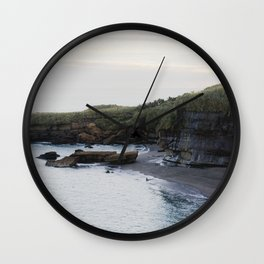 a quiet day in the bay Wall Clock