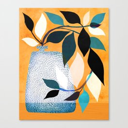 Ivy In The Courtyard Canvas Print