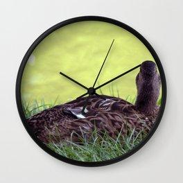 Ich bin eitel / I am vain Wall Clock