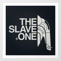 The Slave One Art Print