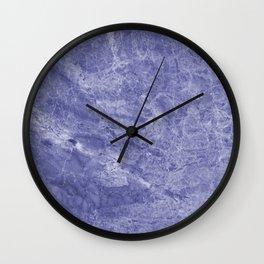 Radiant Purple Pantone Stone Wall Clock