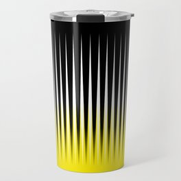 Black and yellow background #society6 #decor #buyart #artprint Travel Mug