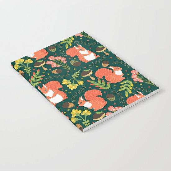 Cute squirrels Notebook