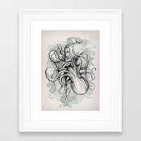 bee Framed Art Prints featuring The Baltic Sea by David Fleck