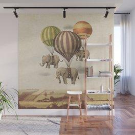 Flight of The Elephants Wall Mural