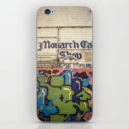 Deli Wall iPhone Skin