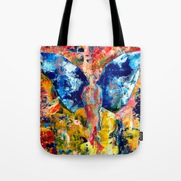 Butterfly 1, Acrylic On Canvas, Chase Medved Tote Bag