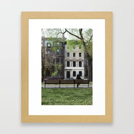 Nature + Architecture = Beauty. Framed Art Print