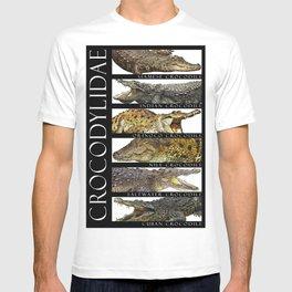 Crocodiles of the World T-shirt
