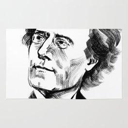 Gustav Mahler Rug