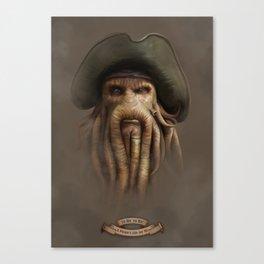 Yo Ho, yo Ho! #1 Canvas Print