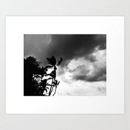 Dramatic sky Art Print