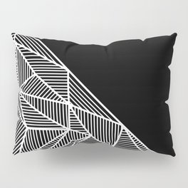 B Rays Geo BW Pillow Sham