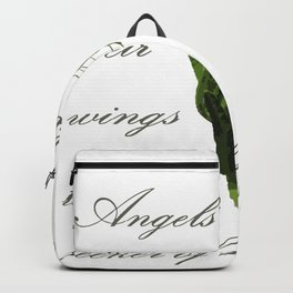 Angels Bend Down Their Wings To A Seeker Of Knowledge Backpack