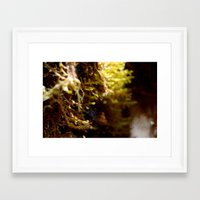 globe Framed Art Prints featuring Globe by 40hz