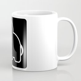 Elephant Bw Coffee Mug