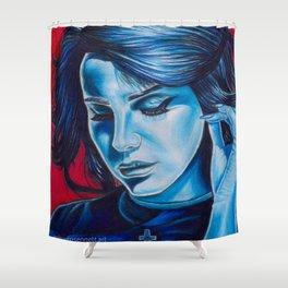 lana stargirl Shower Curtain