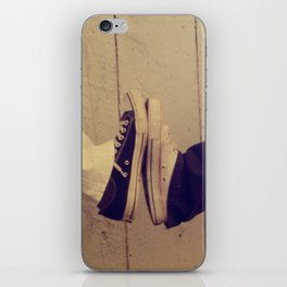 Converse Black and White iPhone Skin