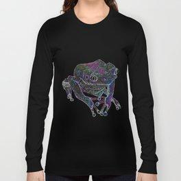 Psychedelic Giant Monkey Frog Long Sleeve T-shirt