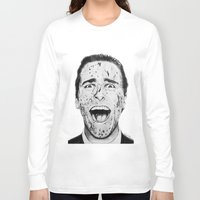american psycho Long Sleeve T-shirts featuring American Psycho by Aoife Rooney Art
