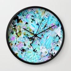 Finger Paint 2 Wall Clock