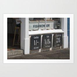 Fishmongers Art Print