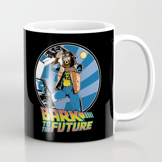 Bark to the Future Mug