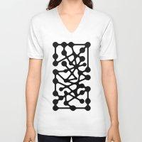 constellation V-neck T-shirts featuring Constellation by muchö