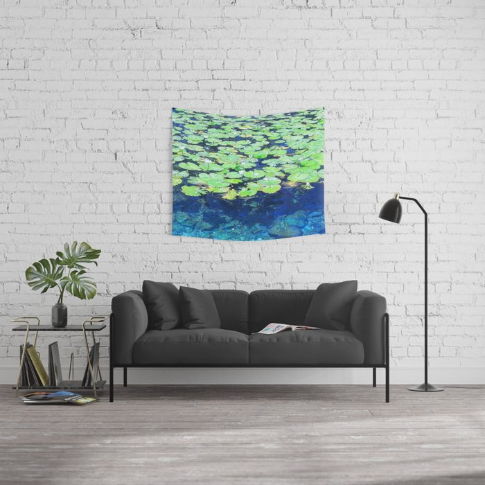 Lily Pads Wall Tapestry