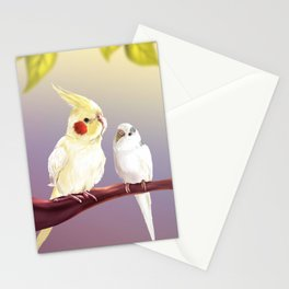 Budgie and Cockatiel Stationery Cards