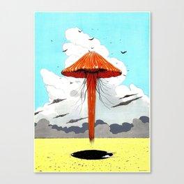 méduse volante #1 Canvas Print
