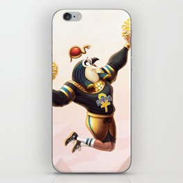 Egyptian Sun God Ra iPhone Skin