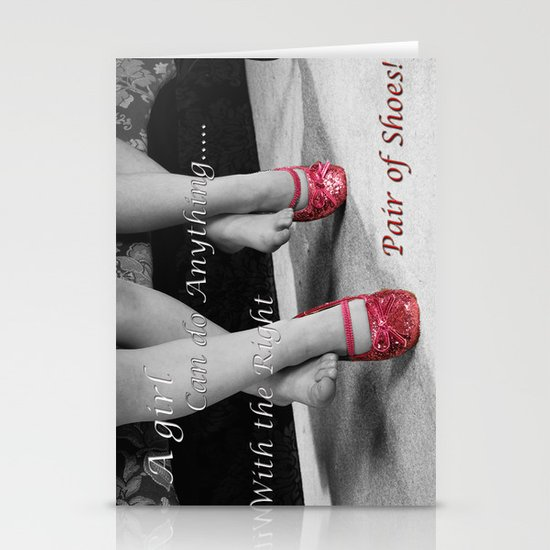 The right Shoes Stationery Cards