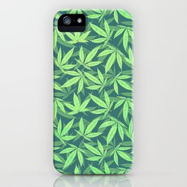 Cannabis / Hemp / 420 / Marijuana  - Pattern iPhone Case