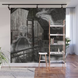Toys in the Attic Haunted Wall Mural