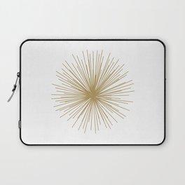 Gold Sputnik Orb Laptop Sleeve