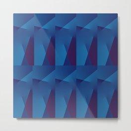 Abstract Geometric QQ Metal Print