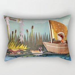 Pond Adventure Rectangular Pillow