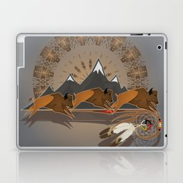 Native American Indian Buffalo Nation Laptop & iPad Skin