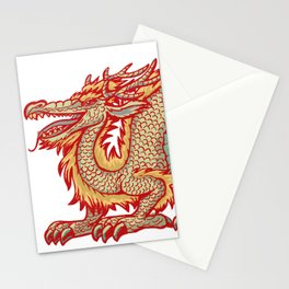 Old China Dragon Stationery Cards