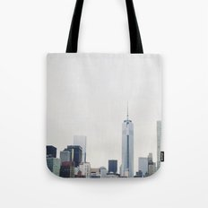 Freedom Tower: New York Cityscape Tote Bag