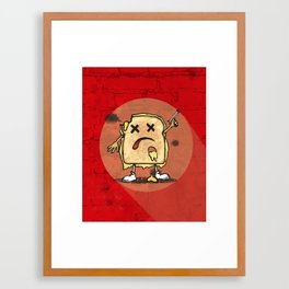 Grilled Cheese Showdown art Framed Art Print