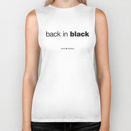 Black Biker Tank