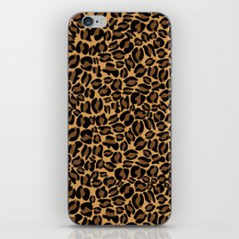 Leopard Print | Cheetah texture pattern iPhone Skin