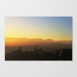 Waitakere's at dusk Canvas Print
